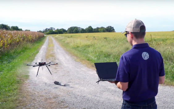 Drone people powered